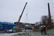 Lemmer - Ir. D.F. Woudagemaal - plaatsing loopbrug tussen Woudagemaal en nieuw bezoekerscentrum