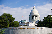 Arkansas State Capital Vietnam Veterans Memorial in Little Rock