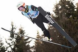 February 7, 2019 - Ljubno, Savinjska, Slovenia - Sara Takanashi of Japan competes on qualification day of the FIS Ski Jumping World Cup Ladies Ljubno on February 7, 2019 in Ljubno, Slovenia. (Credit Image: © Rok Rakun/Pacific Press via ZUMA Wire)