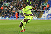 Brighton midfielder, winger, Kazenga LuaLua (30)  during the Sky Bet Championship match between Birmingham City and Brighton and Hove Albion at St Andrews, Birmingham, England on 5 April 2016. Photo by Simon Davies.