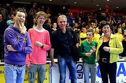 30-03-2013 VOLLEYBAL: LANDSTEDE VOLLEYBAL - ABIANT LYCURGUS: ZWOLLE<br /> 5de Play-off finale best of 5 - Famiele Held<br /> &copy;2013-FotoHoogendoorn.nl