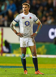 Henry Slade of England- Mandatory by-line: Steve Haag/JMP - 23/06/2018 - RUGBY - DHL Newlands Stadium - Cape Town, South Africa - South Africa v England 3rd Test Match, South Africa Tour