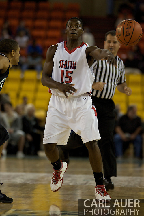 November 29th, 2008:  Anchorage, Alaska - Seattle University guard Chris Gweth (15) in the third place game on the final day of the Great Alaska Shootout.