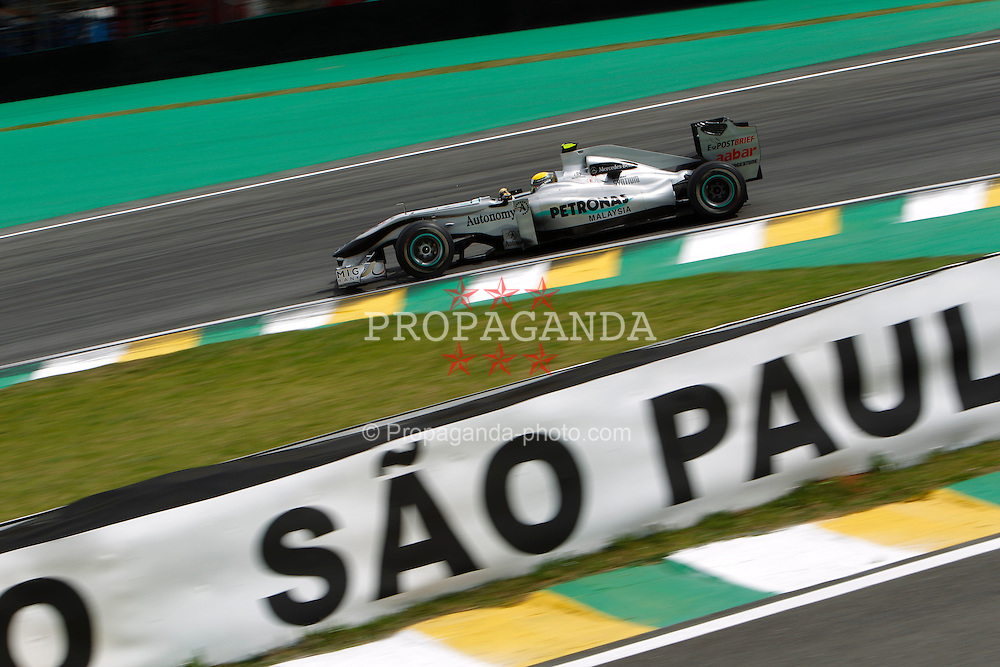 Motorsports / Formula 1: World Championship 2010, GP of Brazil, 04 Nico Rosberg (GER, Mercedes GP Petronas),