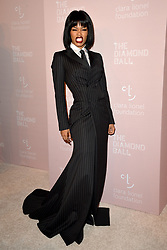 September 13, 2018 - New York, NY, USA - September 13, 2018  New York City..Teyana Taylor attending the 4th Annual Clara Lionel Foundation Diamond Ball on September 13, 2018 in New York City. (Credit Image: © Kristin Callahan/Ace Pictures via ZUMA Press)
