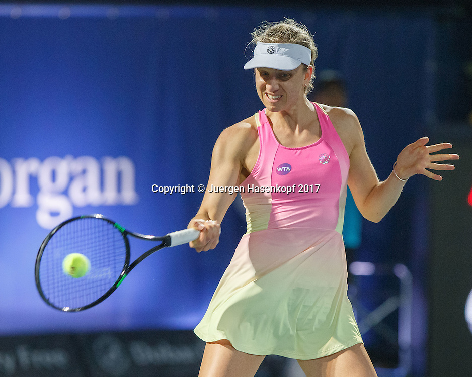 MONA BARTHEL (GER)<br /> <br /> Tennis - Dubai Tennis Championships 2017 -  WTA -  Dubai Duty Free Tennis Stadium - Dubai  -  - United Arab Emirates  - 22 February 2017.