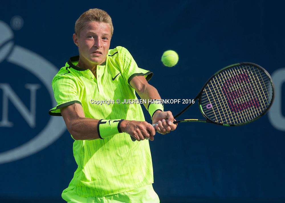 RUDOLF MOLLEKER (GER) Junior BS<br /> <br /> Tennis - US Open 2016 - Grand Slam ITF / ATP / WTA -  USTA Billie Jean King National Tennis Center - New York - New York - USA  - 5 September 2016.