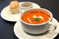 Vegfest menu - Mandatory by-line: Robbie Stephenson/JMP - 07/02/2018 - EVENT - Ashton Gate - Bristol, England - VegFest Menu Tasting