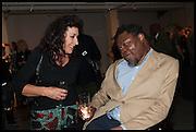 HELEN DAVID; YINKA SHONIBARE, KALEIDOSCOPE edition by  Yinka Shonibare-MBE  studio launch, Multiple Store,  Dalston,  2 October 2014.