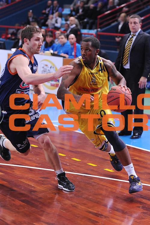 DESCRIZIONE : Bari Lega A2 2011-12 Toys&amp;More Final Four Coppa Italia Semifinale Givova Scafati Fileni BPA Jesi<br /> GIOCATORE : Paul Marigney<br /> CATEGORIA : palleggio<br /> SQUADRA : Givova Scafati <br /> EVENTO : Campionato Lega A2 2011-2012<br /> GARA : Givova Scafati Fileni BPA Jesi<br /> DATA : 03/03/2012<br /> SPORT : Pallacanestro<br /> AUTORE : Agenzia Ciamillo-Castoria/M.Marchi<br /> Galleria : Lega Basket A2 2011-2012  <br /> Fotonotizia : Bari Lega A2 2010-11 Toys&amp;More Final Four Coppa Italia Semifinale Givova Scafati Fileni BPA Jesi<br /> Predefinita :