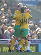 London - Friday, December 26th, 2008: Gary Doherty of Norwich City celebrates his goal - making it 1 -1 during the Coca Cola Championship match at Selhurst Park, London. (Pic by Alex Broadway/Focus Images)