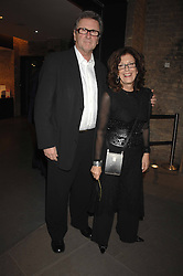 ANITA & GORDON RODDICK at Fast Forward - a fund-raising party for the National Theatre held at The Roundhouse, London NW1 on 1st March 2007.<br /><br />NON EXCLUSIVE - WORLD RIGHTS