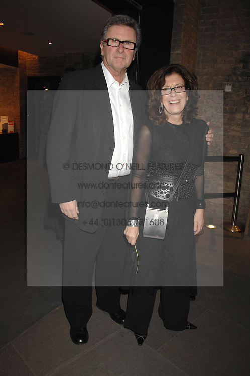 ANITA &amp; GORDON RODDICK at Fast Forward - a fund-raising party for the National Theatre held at The Roundhouse, London NW1 on 1st March 2007.<br />