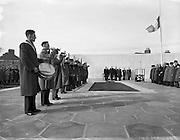 Arbour HIll Commemoration (Fianna Fail), Dublin. 06/04/1958.