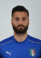 FLORENCE, ITALY - JUNE 01:  Antonio Candreva of Italy poses for a photo ahead of the UEFA Euro 2016 at Coverciano on June 1, 2016 in Florence, Italy.  Foto Claudio Villa/FIGC Press Office/Insidefoto