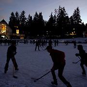 Pond hockey | Shawnigan Lake, B.C.