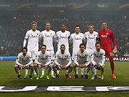 FOOTBALL: Team of FC København before the UEFA Europa League round of 16, first leg, match between FC København and AFC Ajax at Parken Stadium, Copenhagen, Denmark on Marts 9, 2017. Photo: Claus Birch