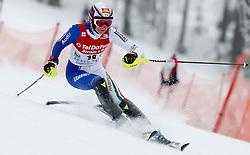 04.02.2011, Arber Zwiesel, GER, FIS World Cup Ski Alpin, Lady, Slalom, im Bild Manuela Moelgg (ITA, #18) // Manuela Moelgg (ITA) // during FIS Ski Worldcup ladies Slalom at Arber Zwiesel, Germany on 04/02/2011. EXPA Pictures © 2011, PhotoCredit: EXPA/ R. Hackl