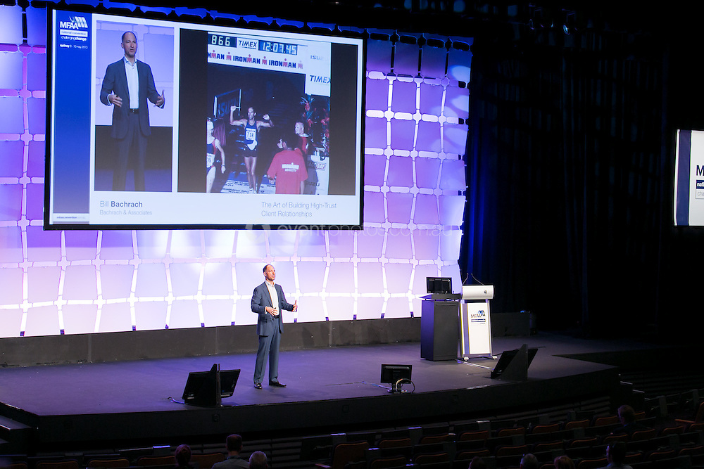 Bill Bachrach. Plenary. MFAA. New South Wales. Photo By Pat Brunet/Event Photos Australia