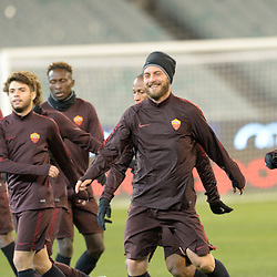 AS Roma training | Melbourne Australia | 17 July 2015