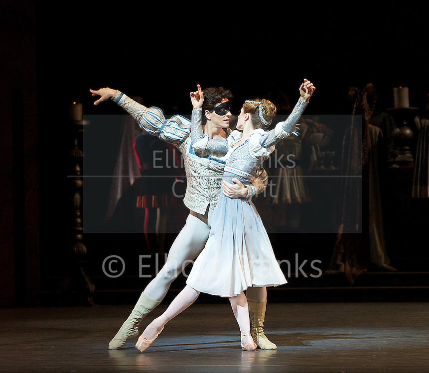 Romeo &amp; Juliet<br /> The National Ballet of Canada<br /> at Sadler's Well's, London, Great Britain <br /> rehersal <br /> 17th April 2013 <br /> <br /> Heather Ogden<br /> as Juliet <br /> <br /> Guillaume Cote as Romeo <br /> <br /> Piotr Stanczyk as Mercutio <br /> <br /> Jiri Jelinek as Tybalt <br /> <br /> Lorna Geddes as Nurse<br /> <br /> Lawrence Peter Ottmann as Friar <br /> <br /> Etienne Lavigne as Lord Capulet <br /> <br /> Patrick Lavoie as Paris<br /> <br /> Robert Stephen as Benvolio <br />  <br /> Alejandra Perez-Gomez as Lady Capulet <br /> <br /> Jonathan Renna as Duke of Cambridge<br /> <br /> Kevin D Bowles as Lord Montague<br /> <br /> Juri Hiraoka as Lady Montague<br /> <br /> Photograph by Elliott Franks