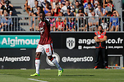 Younousse SANKHARE (Girondins de Bordeaux) scored a goal during the French championship L1 football match between SCO Angers and Bordeaux on August 6th, 2017 at Raymond-Kopa stadium, France - PHOTO Stéphane Allaman / ProSportsImages / DPPI