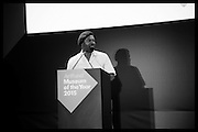BEN OKRI;  The £100,000 Art Fund Prize for the Museum of the Year,   Tate Modern, London. 1 July 2015