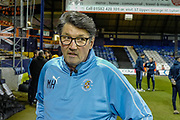 Luton Town Caretaker Manager Mick Harford before the The FA Cup 3rd round replay match between Luton Town and Sheffield Wednesday at Kenilworth Road, Luton, England on 15 January 2019.