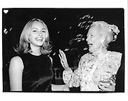 two models: Kristy Hinze and Lily Carlson. ( Lily modelled for Irving Penn. )<br />