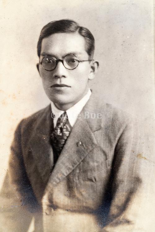 studio portrait Japan ca 1930s