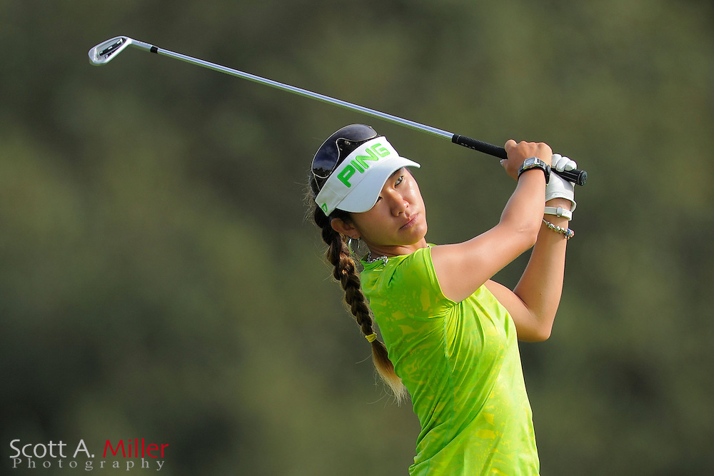 Jean Chua during the final round of the Daytona Beach Invitational  at LPGA International on Sep 30, 2012 in Daytona Beach, Florida...©2012 Scott A. Miller