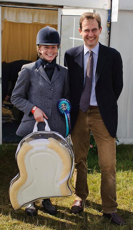 (c) Colin Lunn | StockPix.eu.Lord Hopetoun with the group B winner Lisa Kernaghan at Gillespie Macandrew Hopetoun House Horse Trials 28 July 2012