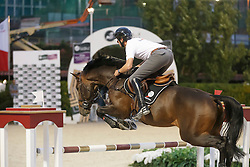 Wathelet Gregory, (BEL), Conrad de Hus<br /> Furusiyya FEI Nations Cup Jumping Final - Barcelona 2015<br /> © Dirk Caremans<br /> 23/09/15