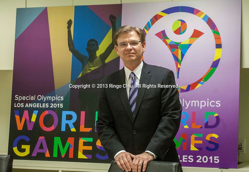 Patrick McClenahan, CEO and President of the 2015 Special Olympics in Southern California.
