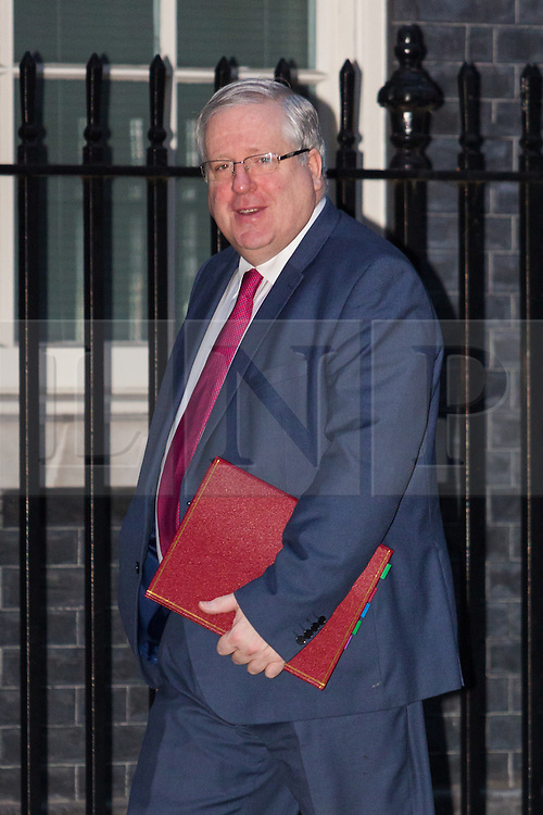 © Licensed to London News Pictures. 15/12/2015. London, UK. PATRICK MCLOUGHLIN arrives for a cabinet meeting in Downing Street. Photo credit : Vickie Flores/LNP
