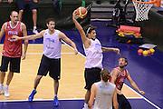 Sassari 20 Agosto 2012 - Qualificazioni Eurobasket 2013 - Allenamento<br /> Nella Foto : DANILE HACKETT<br /> Foto Ciamillo/Castoria