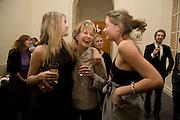; MIRANDA PORTER; LIZ ELLIOT; CHARLOTTE PORTER Vanity Fair, Baroness Helena Kennedy QC and Henry Porter launch ' The Convention on Modern Liberty'. The Foreign Press Association. Carlton House Terrace. London. 15 January 2009 *** Local Caption *** -DO NOT ARCHIVE-© Copyright Photograph by Dafydd Jones. 248 Clapham Rd. London SW9 0PZ. Tel 0207 820 0771. www.dafjones.com.<br /> ; MIRANDA PORTER; LIZ ELLIOT; CHARLOTTE PORTER Vanity Fair, Baroness Helena Kennedy QC and Henry Porter launch ' The Convention on Modern Liberty'. The Foreign Press Association. Carlton House Terrace. London. 15 January 2009