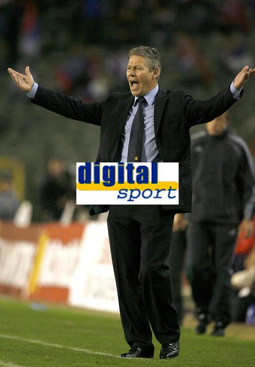 Fotball<br /> 22.08.2007<br /> EM-kvalifisering<br /> Belgia v Serbia<br /> Foto: PhotoNews/Digitalsport<br /> NORWAY ONLY<br />   <br /> RENE VANDEREYCKEN