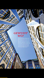 Daheim magazine, Germany; Berlin Hackescher Markt