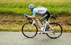 Fabien Schmidt (FRA) of Delko Marseille Provence during 4th Stage of 26th Tour of Slovenia 2019 cycling race between Nova Gorica and Ajdovscina (153,9 km), on June 22, 2019 in Slovenia. Photo by Vid Ponikvar / Sportida