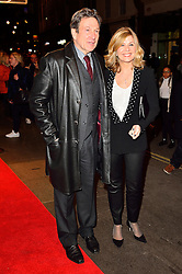 © Licensed to London News Pictures. 16/02/2016.  	MICHAEL BRANDON and GLYNIS BARBER arrive for the press night of Mrs Henderson Presents press night at the Noel Coward Theatre. London, UK. Photo credit: Ray Tang/LNP