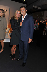JONATHAN & HAYLEY SIEFF at the Private View of the Pavilion of Art & Design London 2011 held in Berkeley Square, London on 10th October 2011.