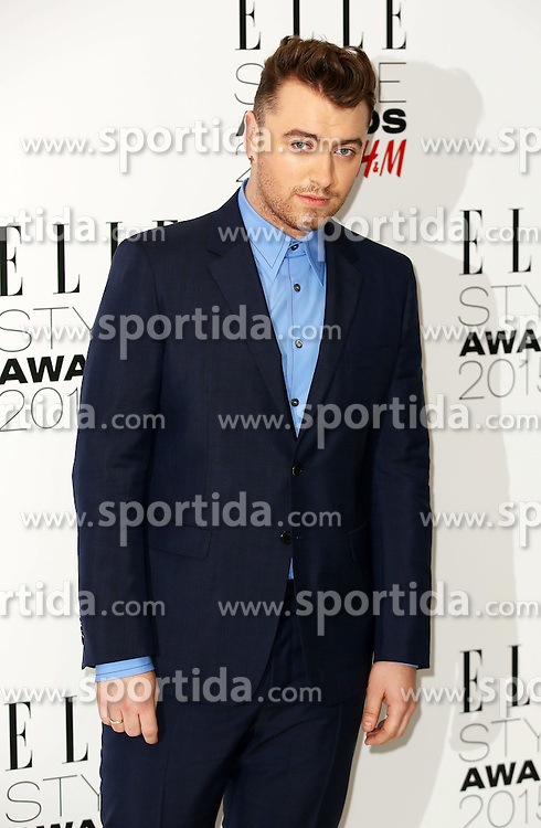 Sam Smith attends the Elle Style Awards 2015 at Sky Garden @ The Walkie Talkie Tower on February 24, 2015 in London, England. EXPA Pictures &copy; 2015, PhotoCredit: EXPA/ Photoshot/ James Shaw<br /> <br /> *****ATTENTION - for AUT, SLO, CRO, SRB, BIH, MAZ only*****