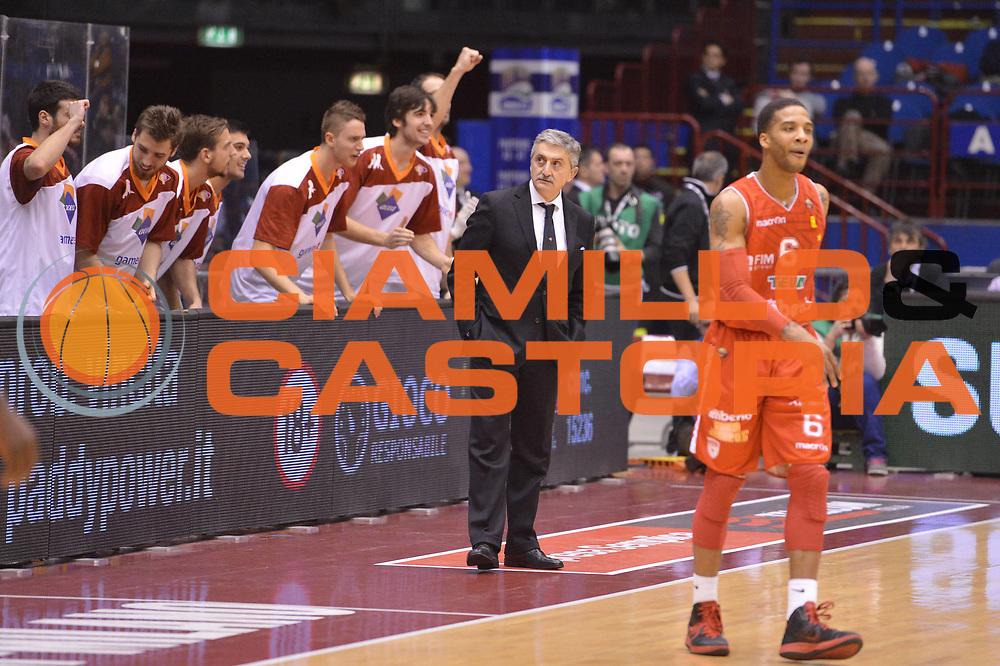 DESCRIZIONE : Milano Coppa Italia Final Eight 2013 semifinale Cimberio Varese Acea Roma<br /> GIOCATORE : Marco Calvani team<br /> CATEGORIA : esultanza<br /> SQUADRA : Acea Roma<br /> EVENTO : Beko Coppa Italia Final Eight 2013<br /> GARA : Cimberio Varese Acea Roma<br /> DATA : 09/02/2013<br /> SPORT : Pallacanestro<br /> AUTORE : Agenzia Ciamillo-Castoria/GiulioCiamillo<br /> Galleria : Lega Basket Final Eight Coppa Italia 2013<br /> Fotonotizia : Milano Coppa Italia Final Eight 2013 semifinale Cimberio Varese Acea Roma<br /> Predefinita :