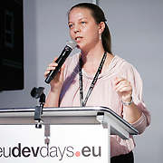 20160616 - Brussels , Belgium - 2016 June 16th - European Development Days - Tackling fragility , displacement and chronic vulnerability in the Sahel and Lake Chad - Iveta Ouvry , Mercy Corps Director © European Union