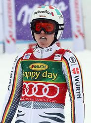 27.10.2018, Rettenbach Ferner, Sölden, AUT, FIS Weltcup Ski Alpin, Sölden, Riesenslalom, Damen, 2. Lauf, im Bild Viktoria Rebensburg (GER) // Viktoria Rebensburg (GER) reacts after her 2nd run of the ladie's Giant Slalom of the FIS Ski Alpine Worldcup opening at the Rettenbach Ferner in Sölden, Austria on 2018/10/27. EXPA Pictures © 2018, PhotoCredit: EXPA/ SM<br /> <br /> *****ATTENTION - OUT of GER*****