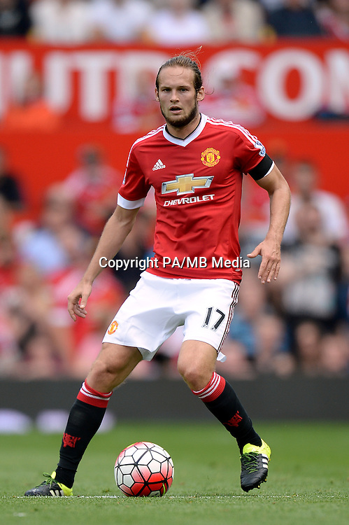 File photo dated 08-08-2015 of Manchester United's Daley Blind during the Barclays Premier League match at Old Trafford, Manchester.