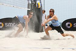 20140606 ITA: EK Beachvolleybal, Cagliari<br /> Christiaan Varenhorst, Jon Stiekema<br /> ©2014-FotoHoogendoorn.nl / Pim Waslander