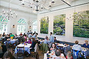 Busy Restaurant at NYBG