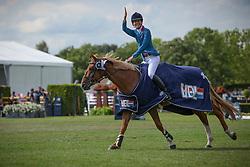 Diniz Luciana, POR, Lady Lindenhof<br /> LGCT Valkenswaard 2014<br /> © Hippo Foto - Sharon Vandeput<br /> 3/08/14